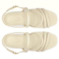 Sandália Branco Pétala Antônia