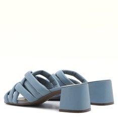 Mule Azul Hortênsia Valentina