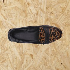 Moc Leopard Couro Luiza