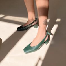 Scarpin Verde Linda