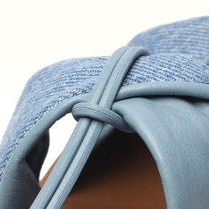 Rasteira Azul Hortênsia/Jeans Stella