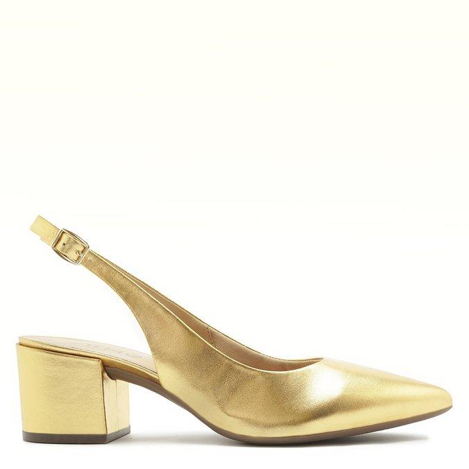 Scarpin Dourado Melina
