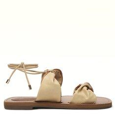 Rasteira Nude/Camel Stella