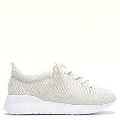 Tênis Branco Pétala Knit Ecoa